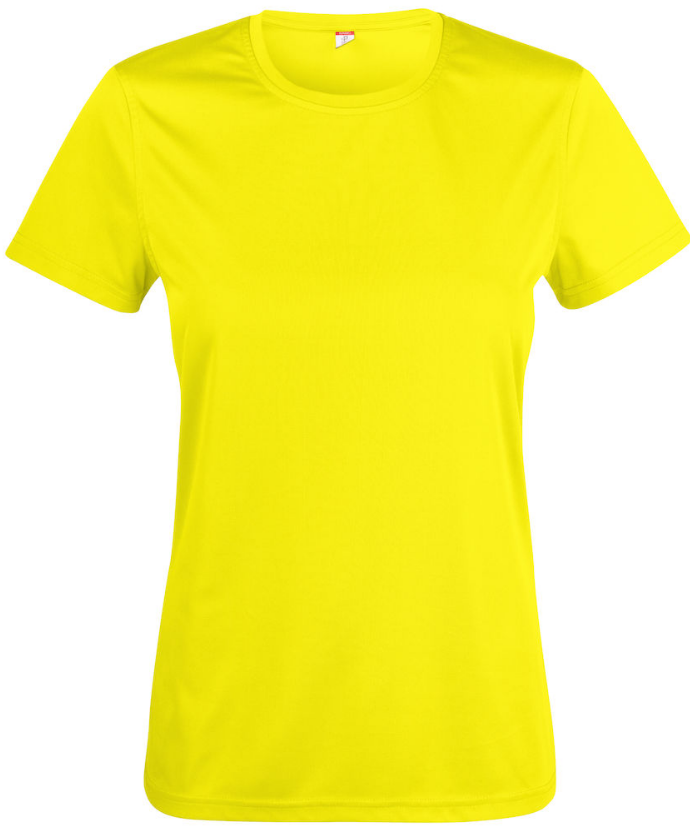 Basic Active dames T-shirt | 100% polyester | 135 g/m2